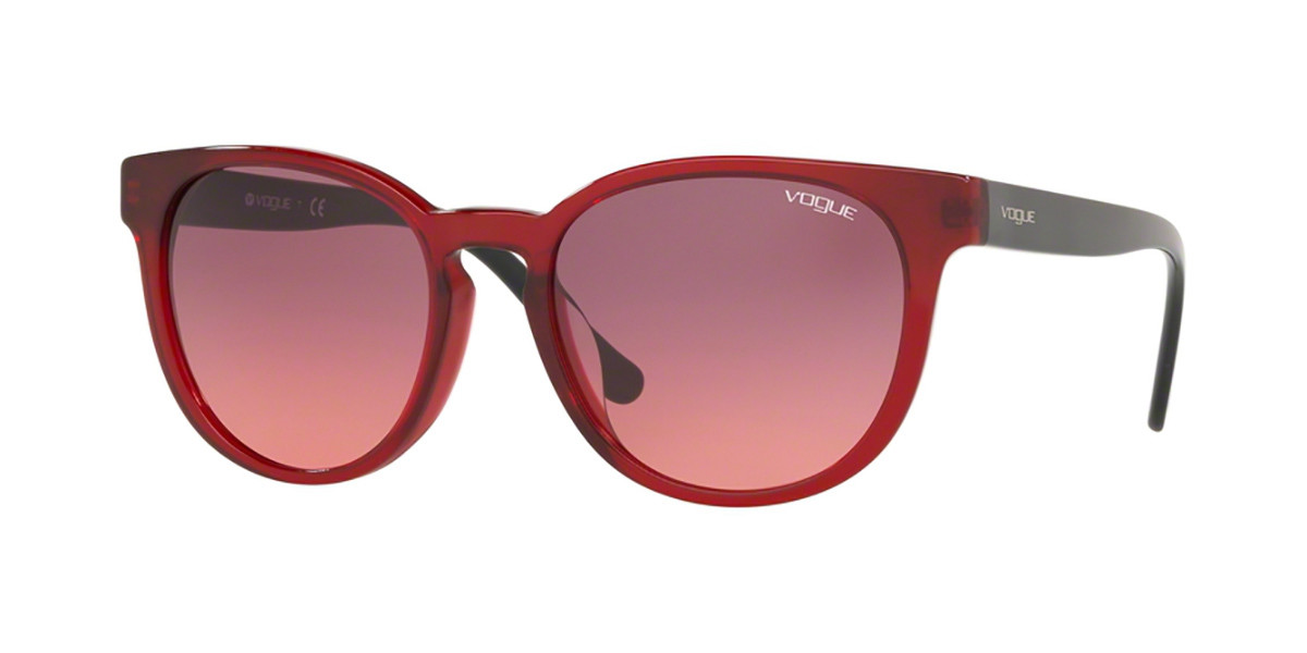 Vogue Eyewear VO5271SF Asian Fit 194720 Women's Sunglasses Red Size 55