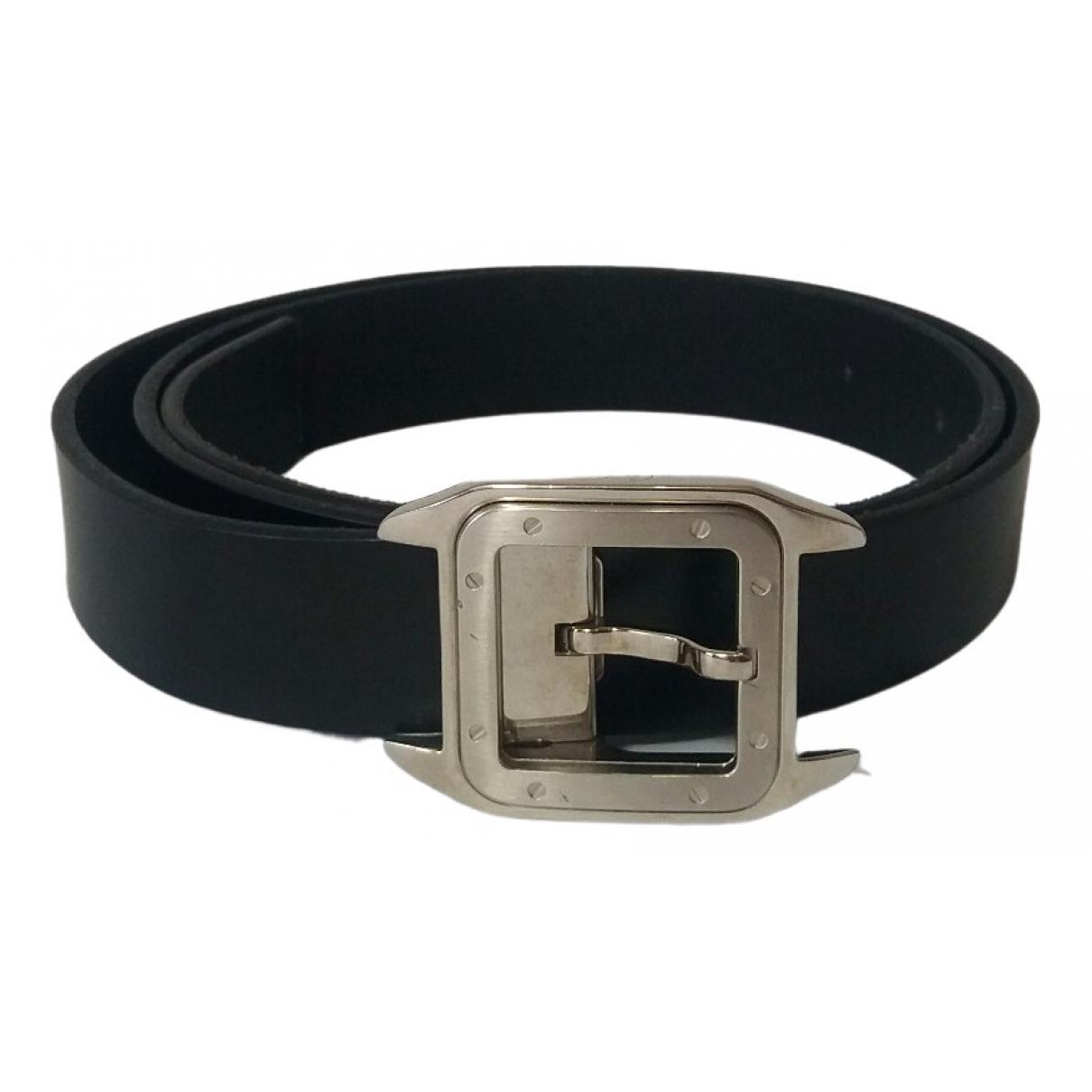 Cinturon de Cuero Cartier