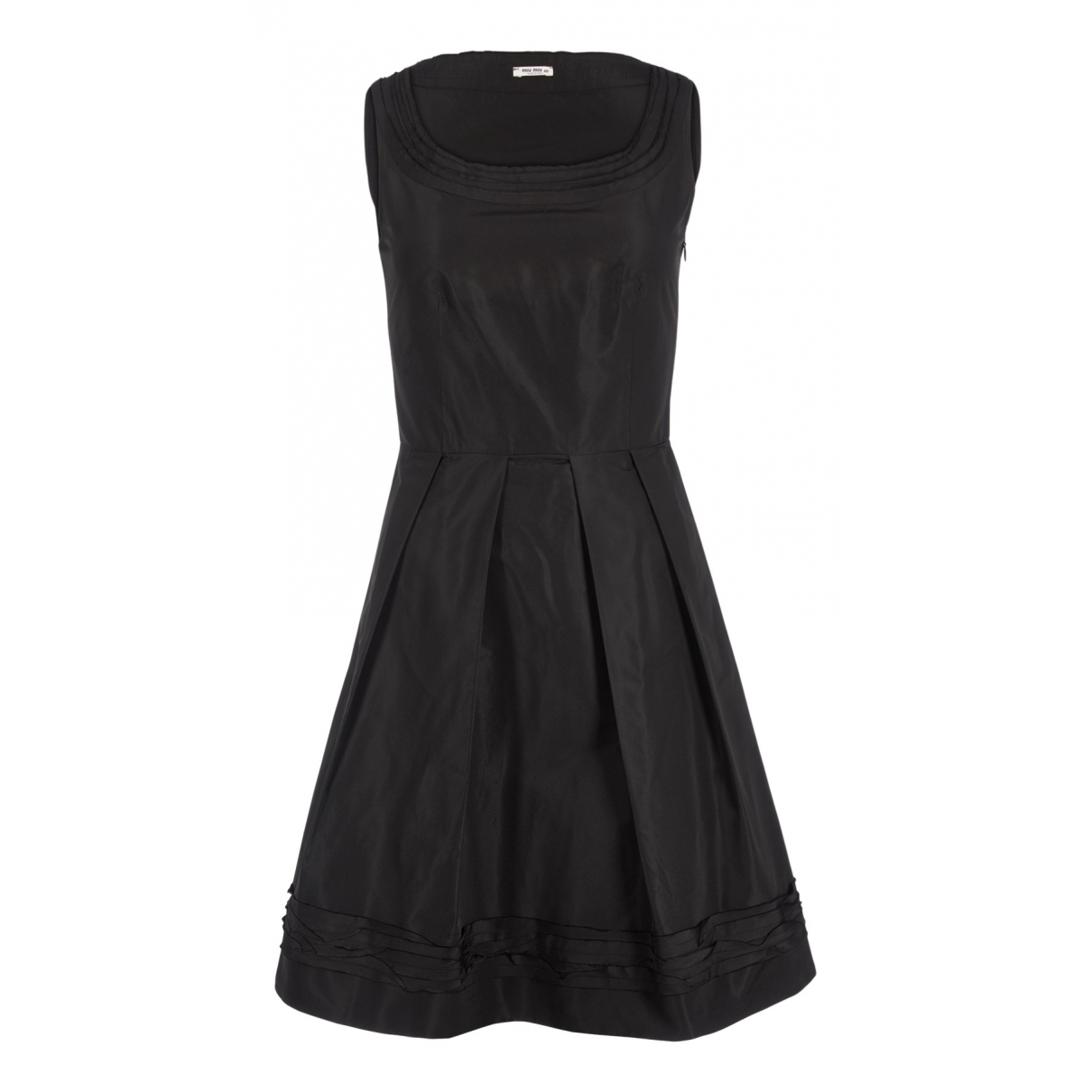 Miu Miu N Black Cotton dress for Women 12 UK