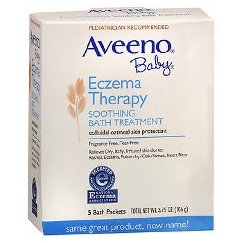 Aveeno Baby Soothing Bath Treatment Fragrance Free 5 pkts by Aveeno