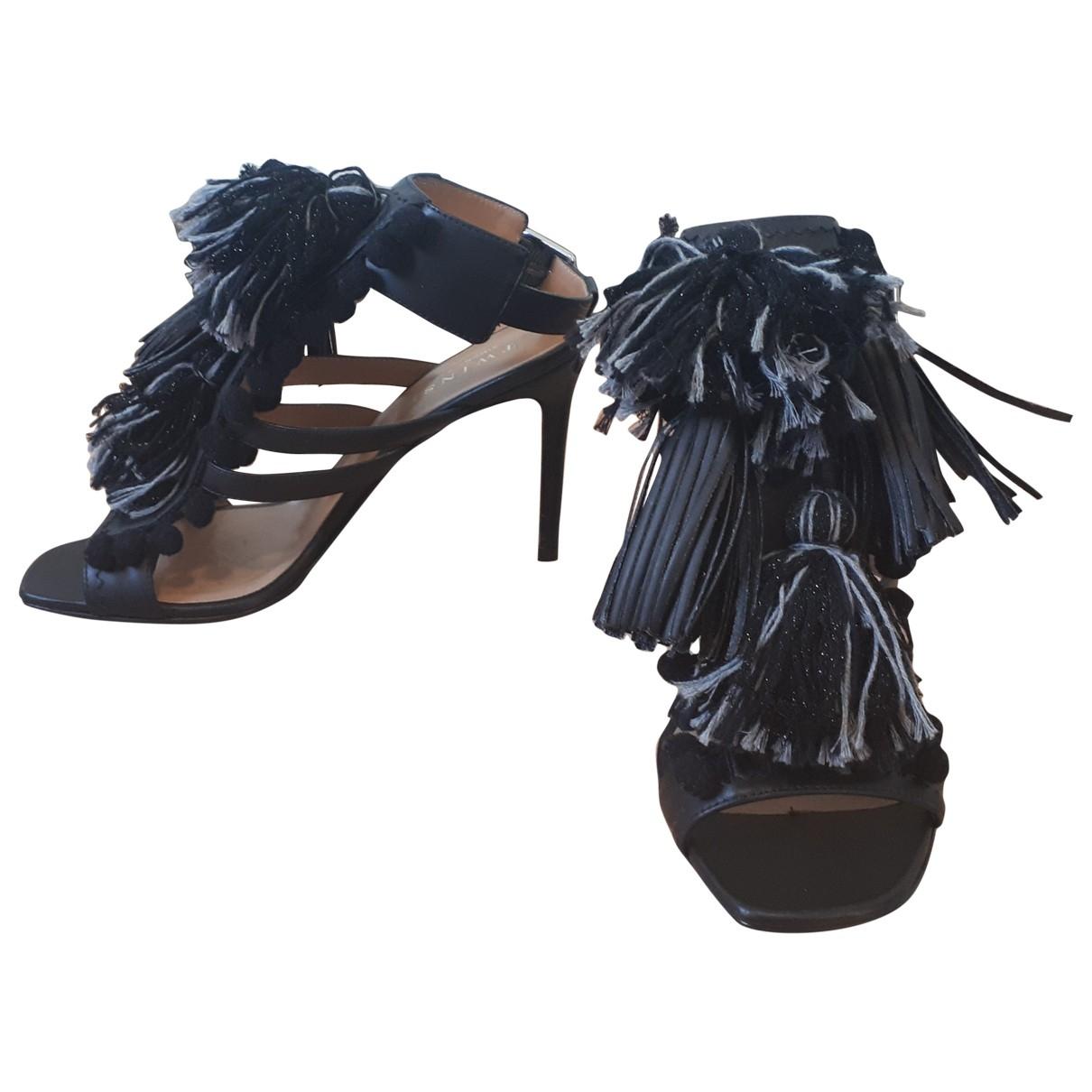 Sandalias de Cuero Twin Set
