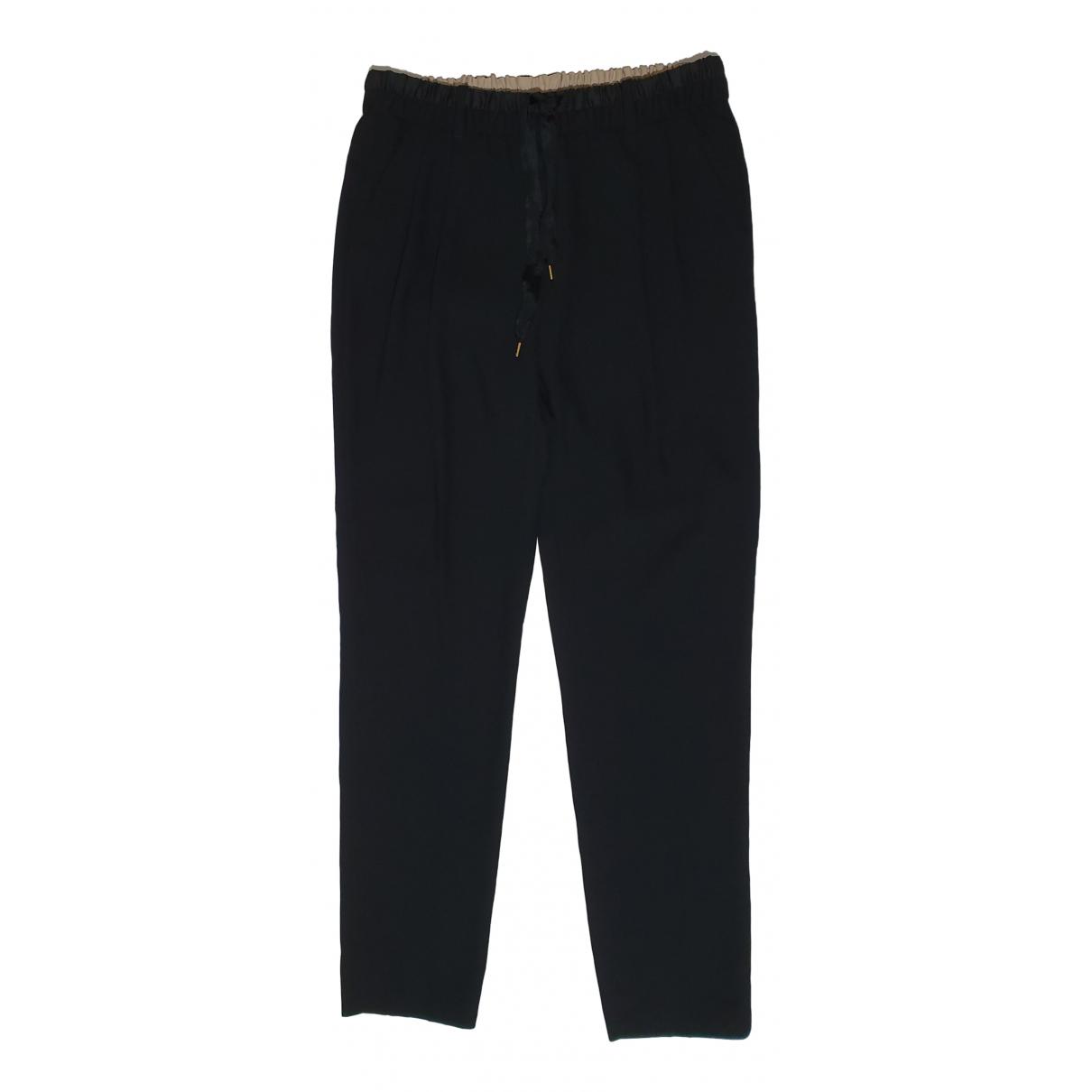 Day Birger & Mikkelsen \N Black Trousers for Women 38 FR