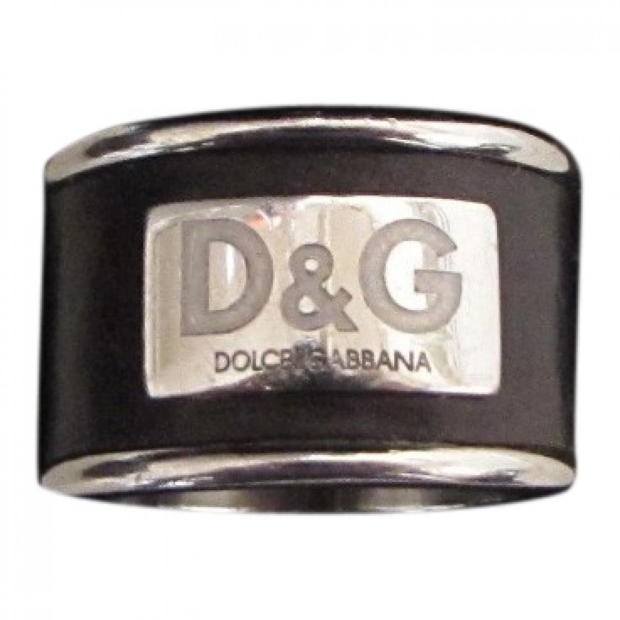 D&g - Bague   pour femme en metal - noir