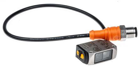 ifm electronic Photoelectric Sensor Retroreflective 50 mm → 5 m Detection Range PNP