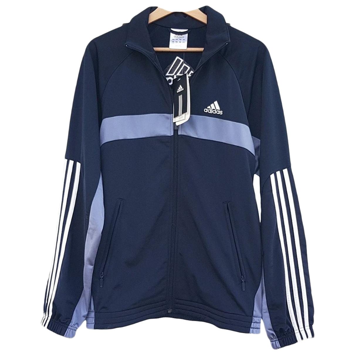 Adidas \N Anzuege in  Blau Synthetik
