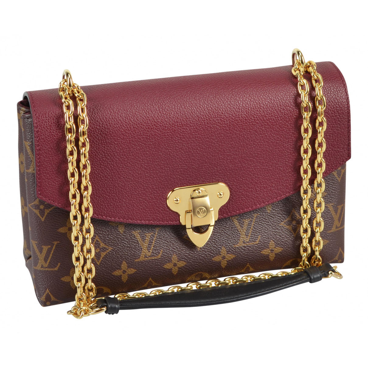 Louis Vuitton Saint Placide Brown Cloth handbag for Women \N
