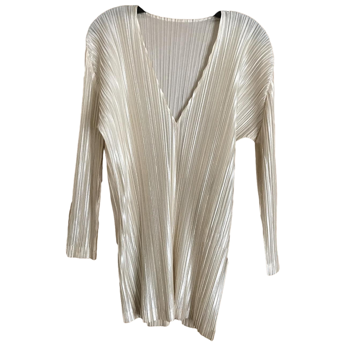 Pleats Please \N Top in  Weiss Polyester