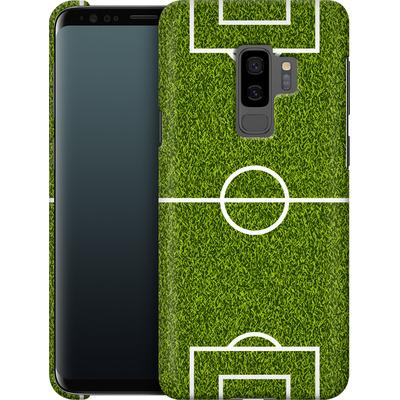 Samsung Galaxy S9 Plus Smartphone Huelle - Soccer Field von caseable Designs