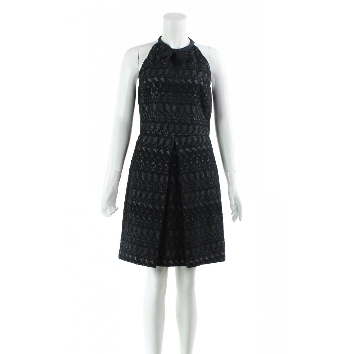 Giambattista Valli \N Kleid in  Schwarz Baumwolle