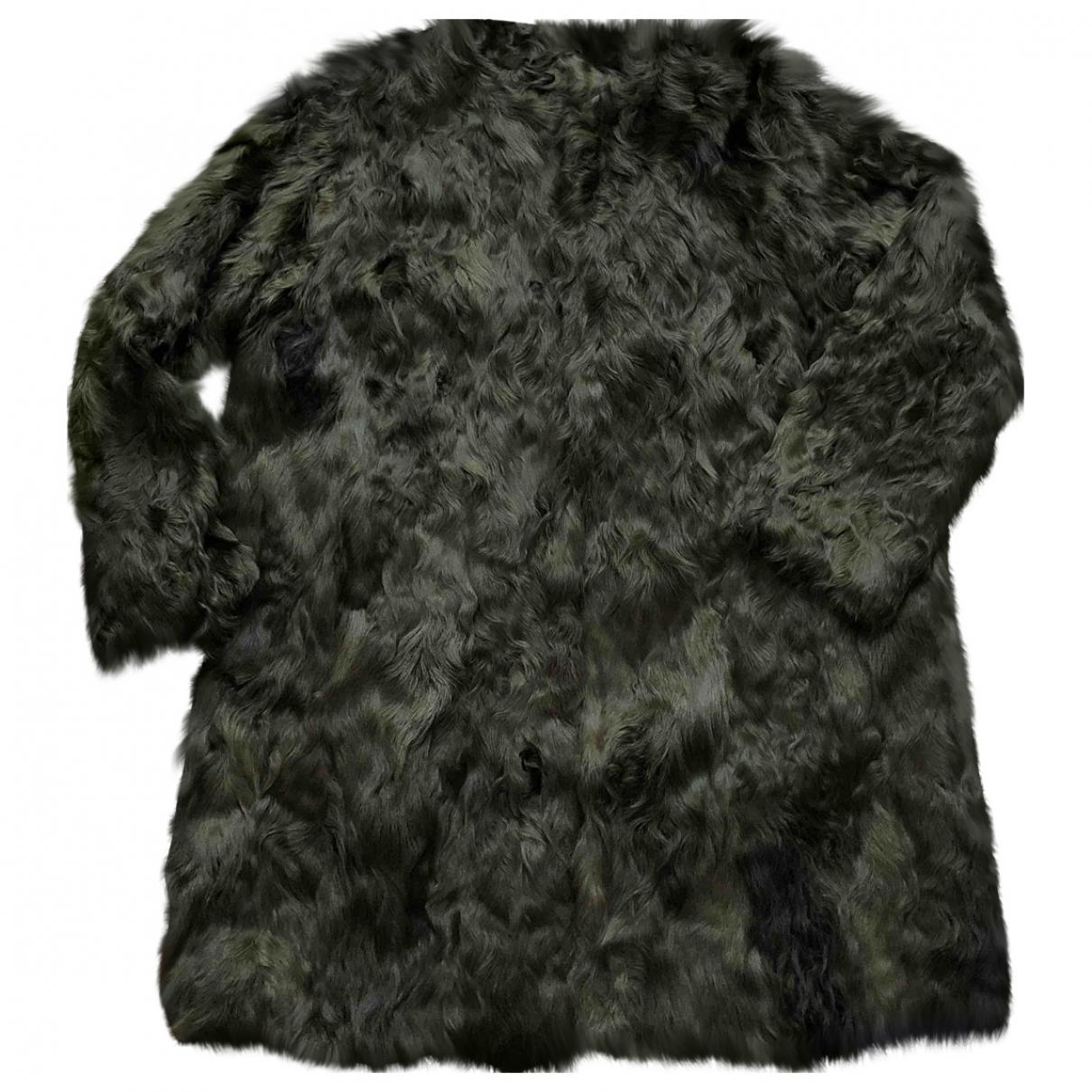 Non Signe / Unsigned Oversize Maentel Khaki