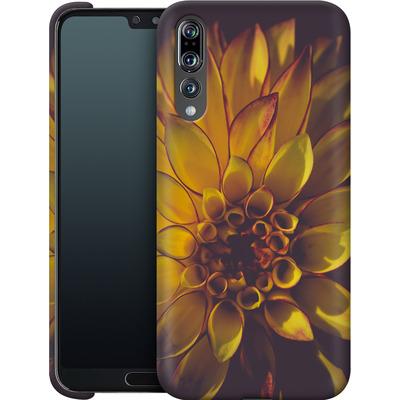 Huawei P20 Pro Smartphone Huelle - Yellow Dahlia von Joy StClaire