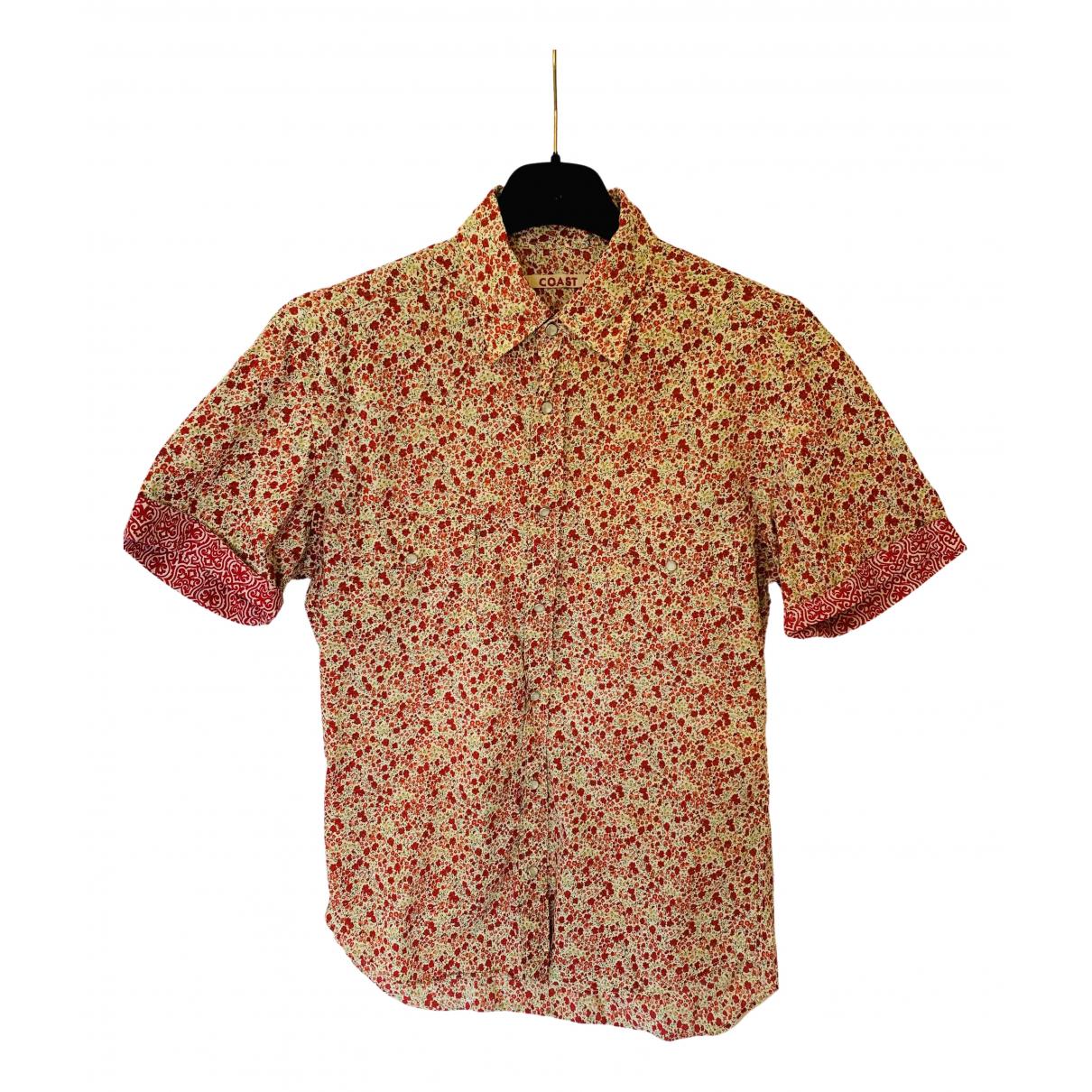 Coast N Red Cotton Shirts for Men M International