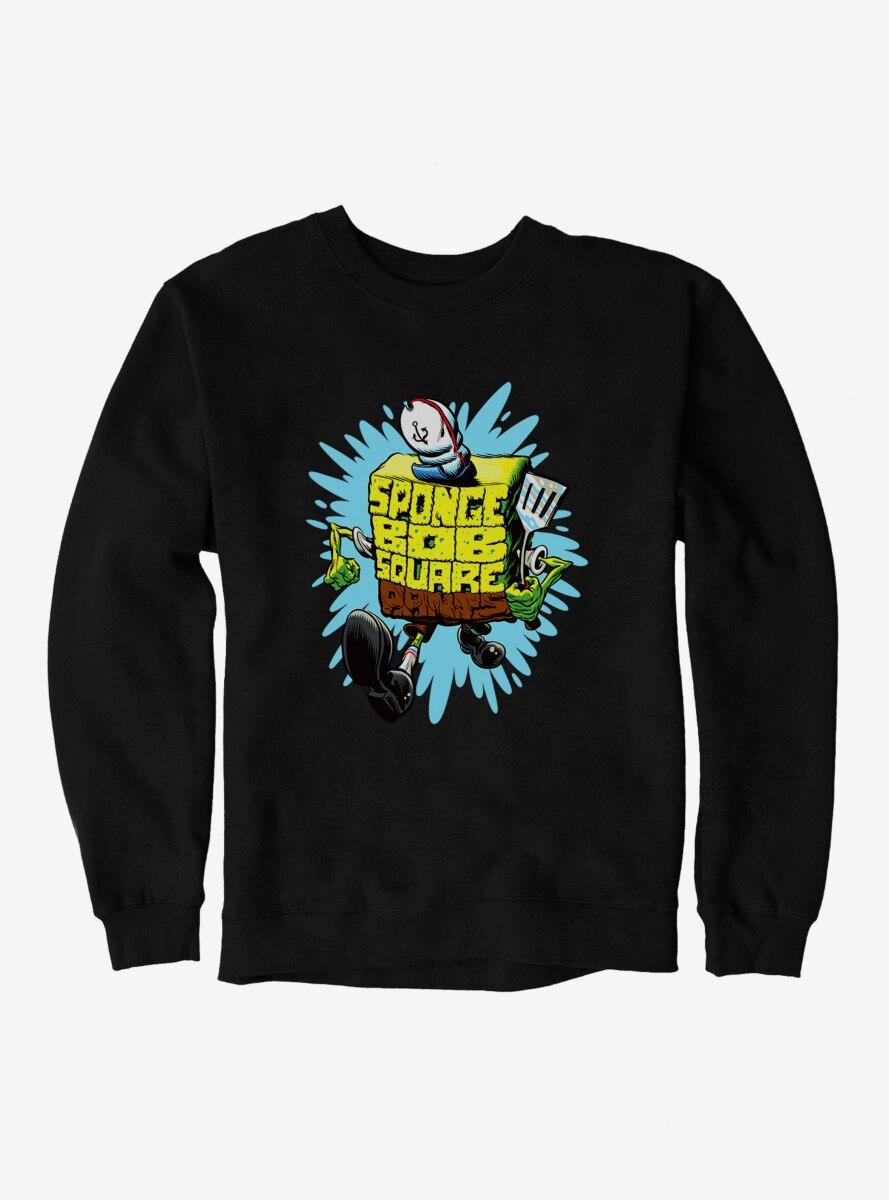 SpongeBob SquarePants Sponge Script Frycook Sweatshirt