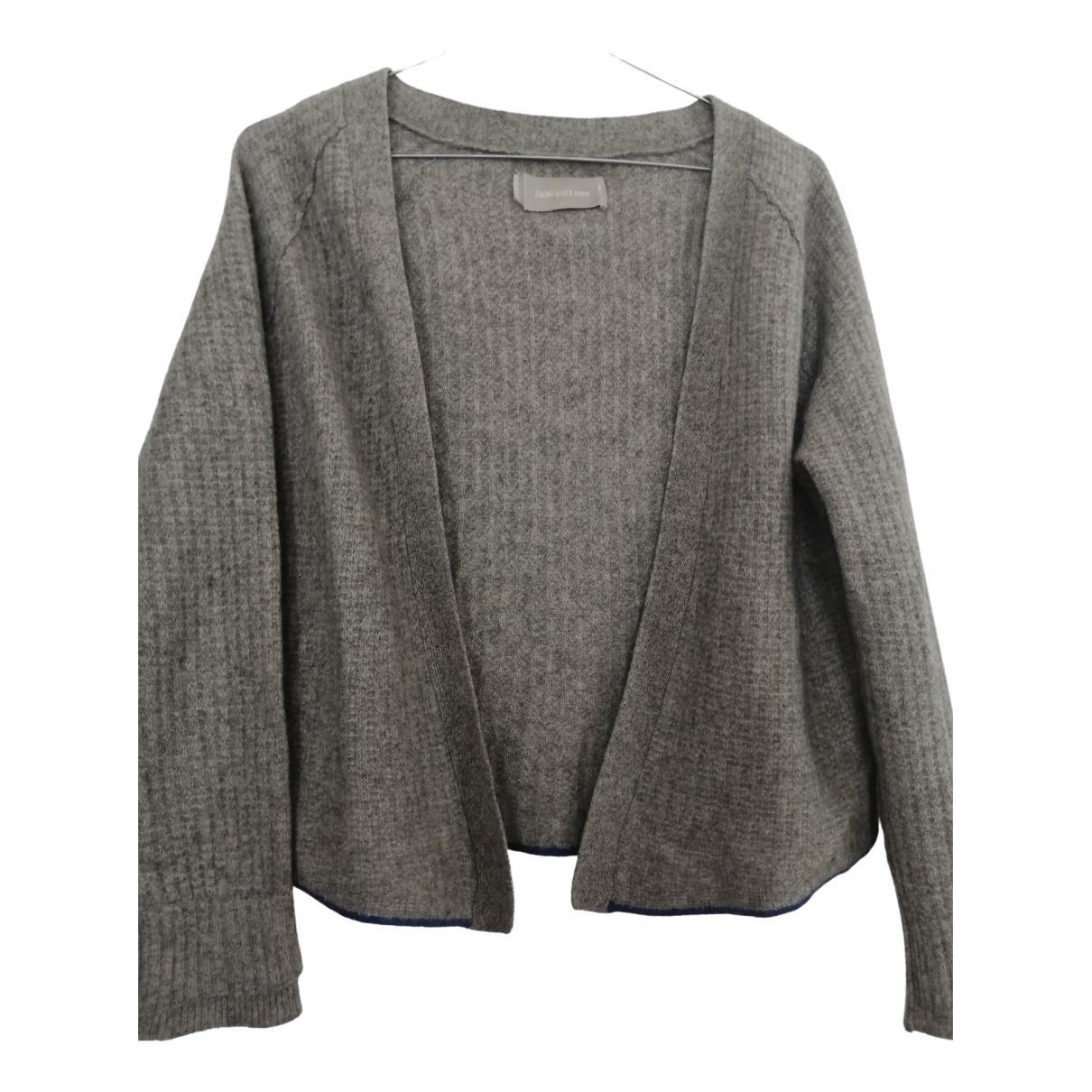 Zadig & Voltaire - Pull   pour femme en cachemire - gris