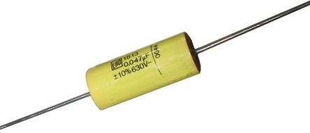 Vishay 680nF Polyester Capacitor PET 40 V ac, 63 V dc ±10%, Through Hole (5)