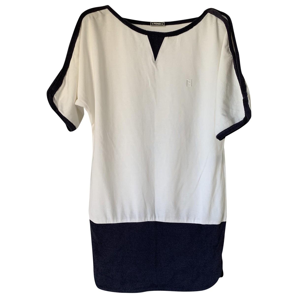 Fendi \N Kleid in  Bunt Baumwolle