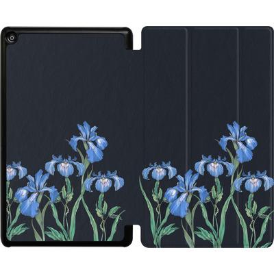 Amazon Fire HD 8 (2017) Tablet Smart Case - My Iris von Stephanie Breeze