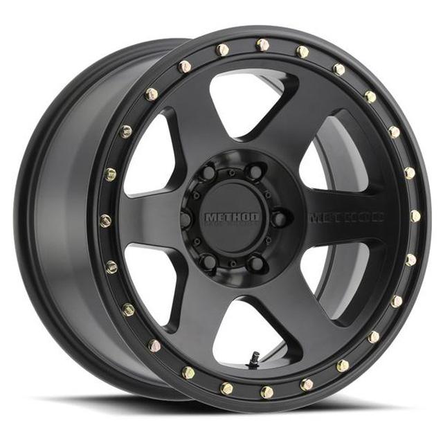 Method MR310 Con6 Matte Black Wheel 17x8.5 6x120 0mm