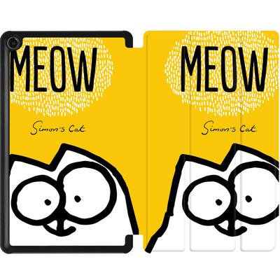 Amazon Fire 7 (2017) Tablet Smart Case - Meow Yellow von Simons Cat