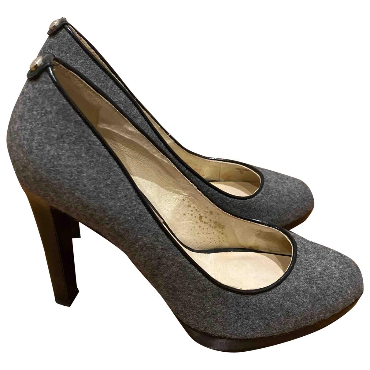 Michael Kors - Escarpins   pour femme en tweed - gris