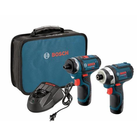 Bosch 12V Max 2-Tool Combo Kit with Two-Speed Pocket Driver and Impact Driver