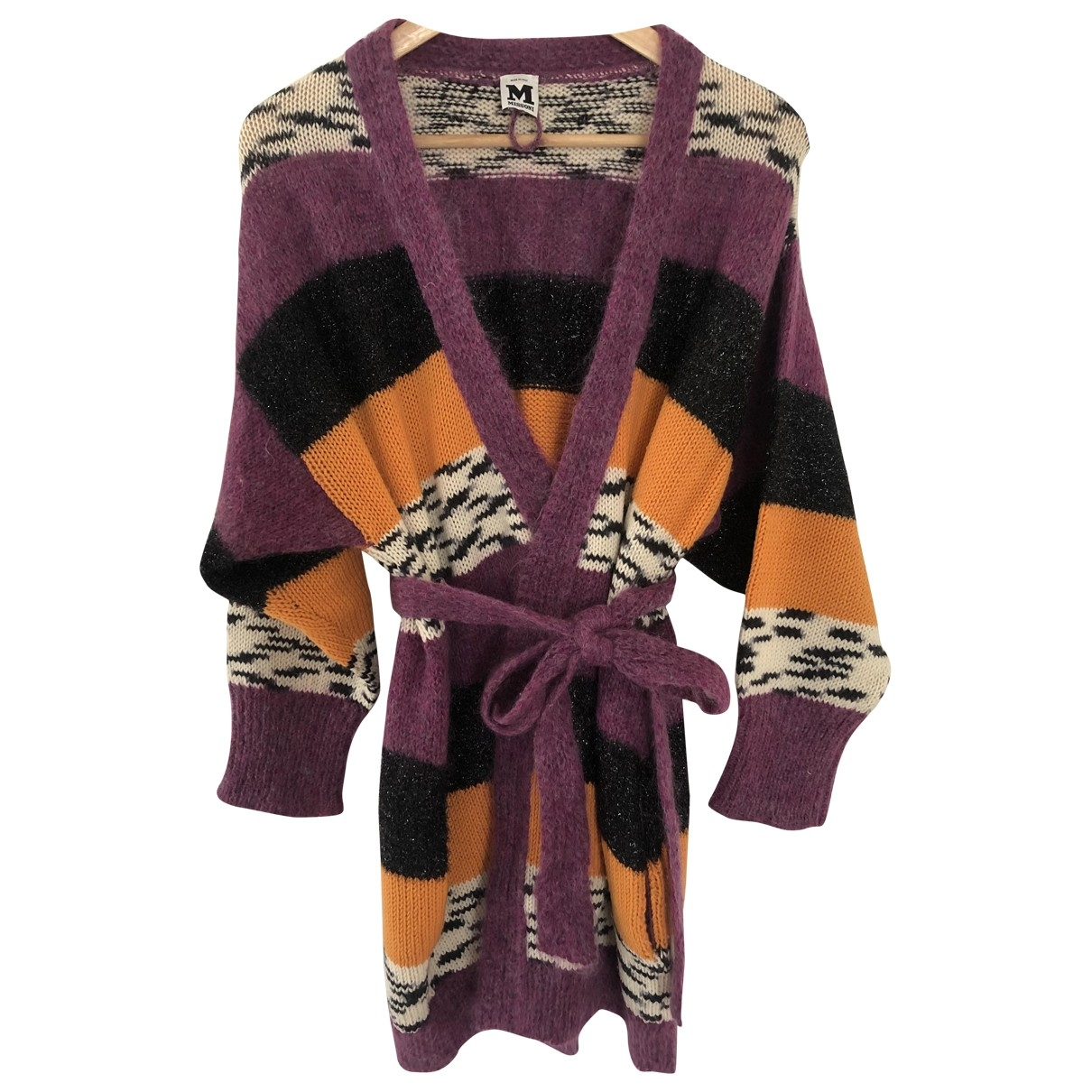 M Missoni \N Pullover in  Lila Wolle