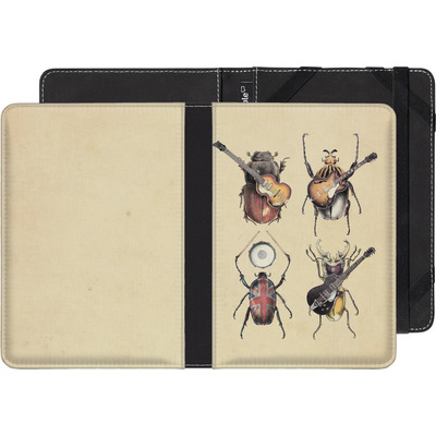 Pocketbook Touch Lux eBook Reader Huelle - Meet The Beetles von Eric Fan