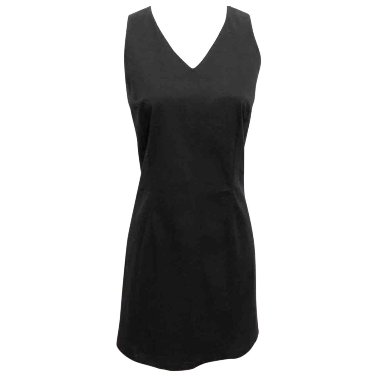 Fendissime \N Black Cotton dress for Women 40 FR