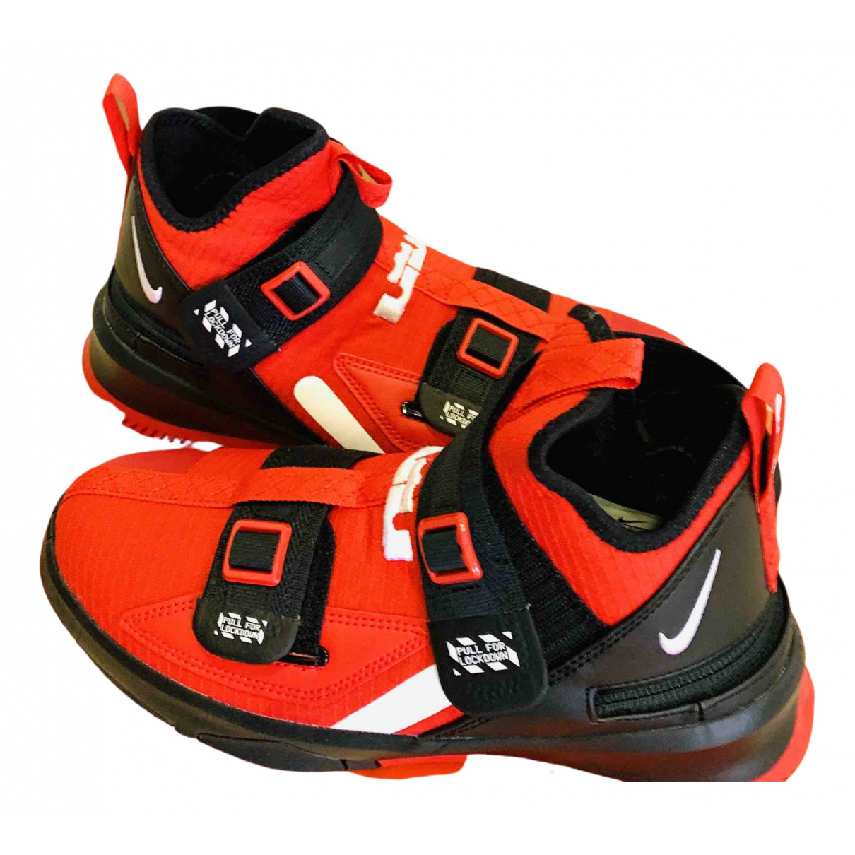 Nike - Baskets   pour homme - rouge