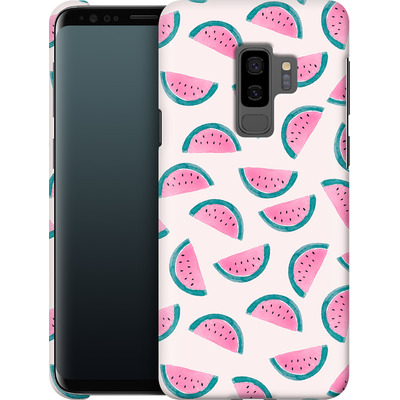 Samsung Galaxy S9 Plus Smartphone Huelle - Watermelon Party von Iisa Monttinen