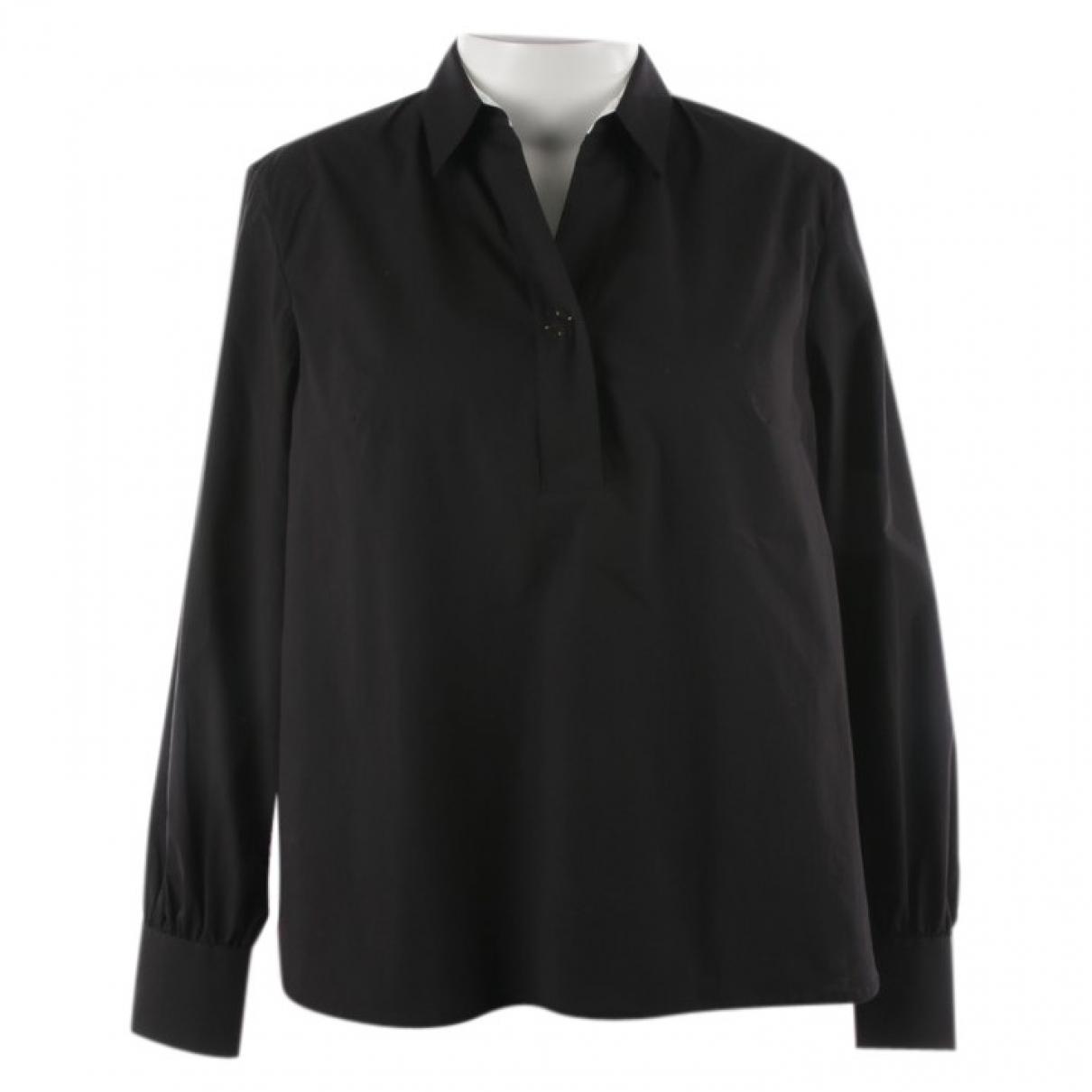 Le Sarte Pettegole - Top   pour femme en coton - noir