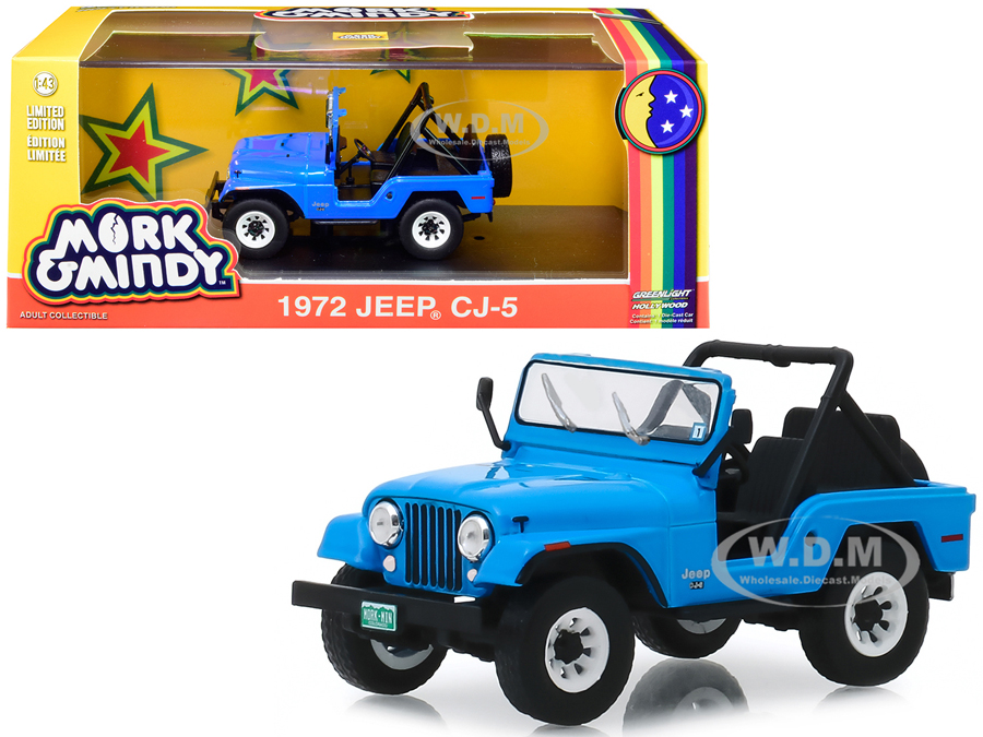 1972 Jeep CJ-5 Blue