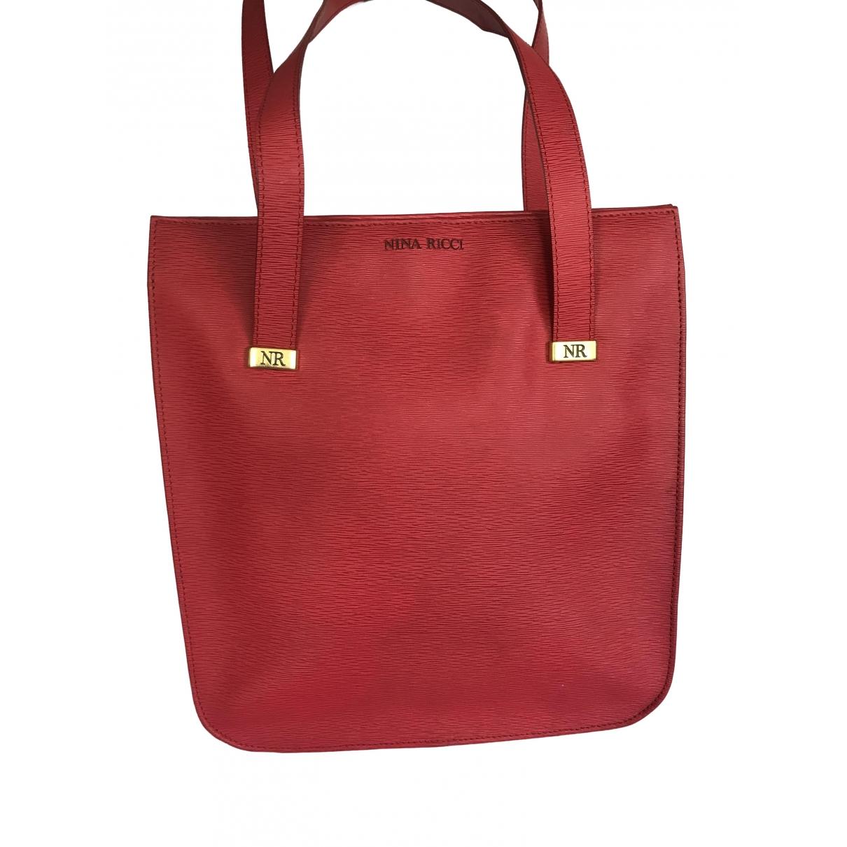 Nina Ricci \N Red Leather handbag for Women \N