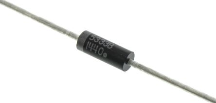 ON Semiconductor , 3.3V Zener Diode 5% 5 W Through Hole 2-Pin DO-15 (5)