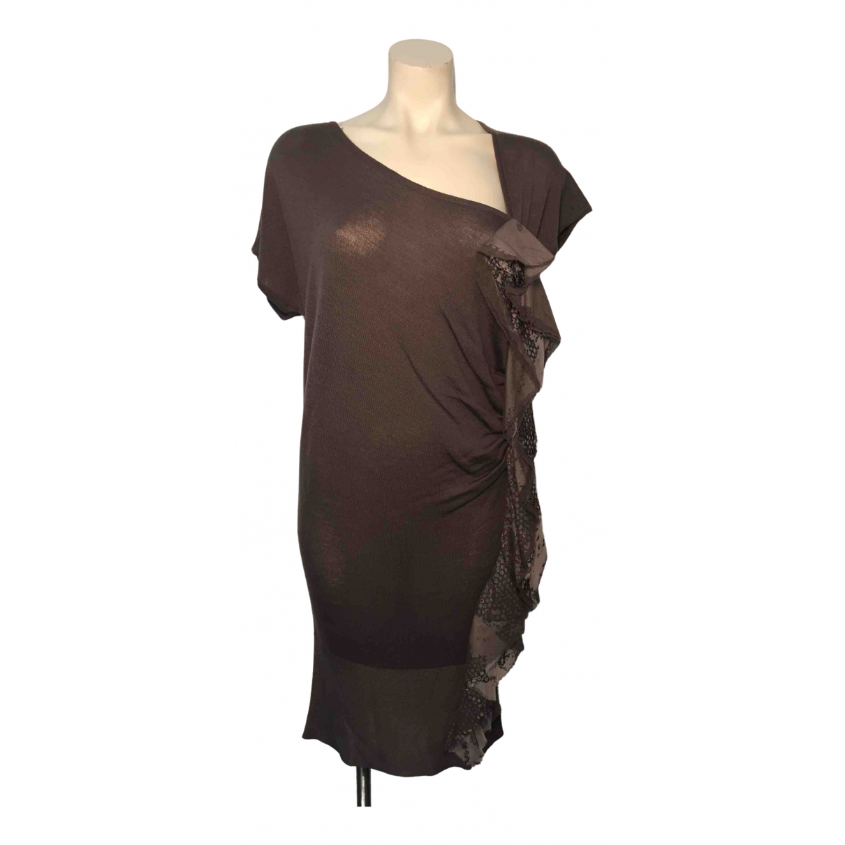 Just Cavalli \N Brown dress for Women 42 IT
