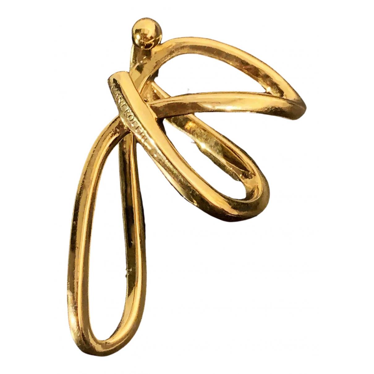 Alan Crocetti \N Gold Silver Earrings for Women \N