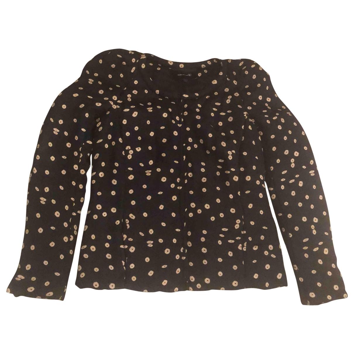 Isabel Marant \N Black Silk jacket for Women 36 FR