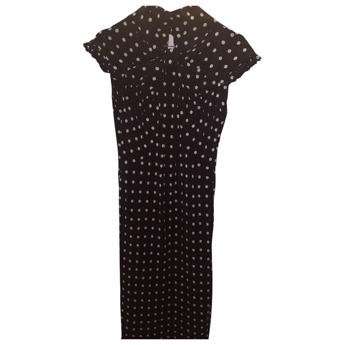 Moschino - Robe   pour femme en soie - noir
