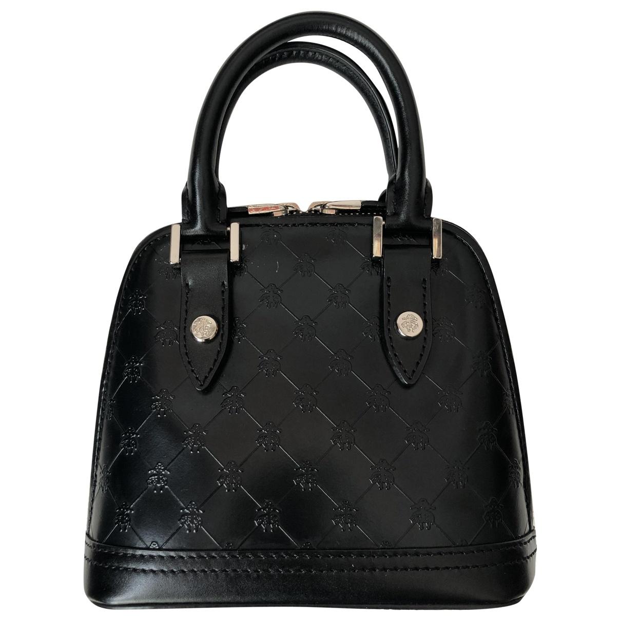 Brooks Brothers \N Handtasche in  Schwarz Leder