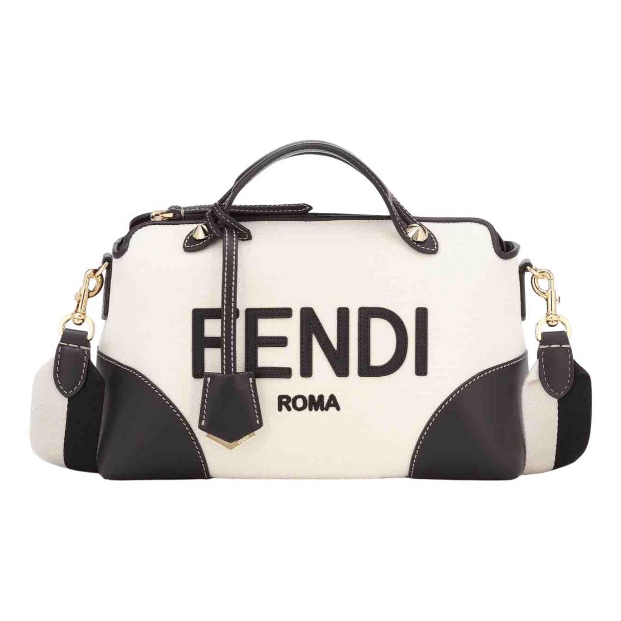 Fendi By The Way  White Cloth handbag for Women N
