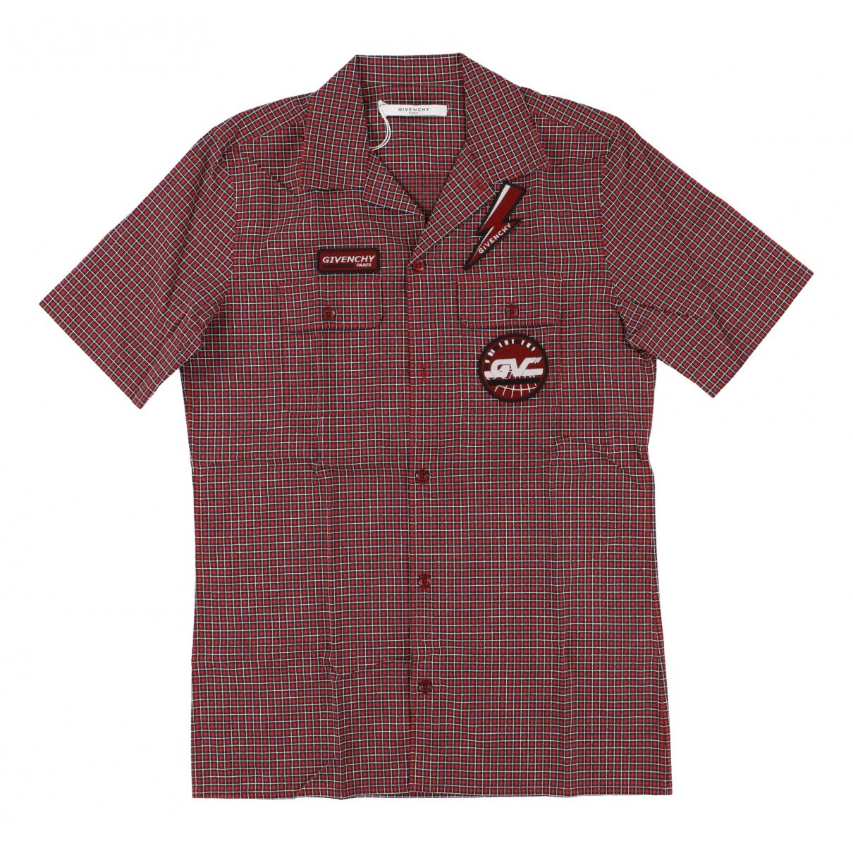 Givenchy - Chemises   pour homme en coton - rouge