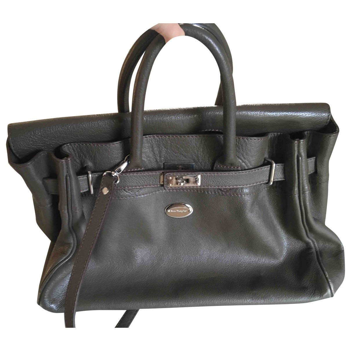 Mac Douglas \N Leather handbag for Women \N