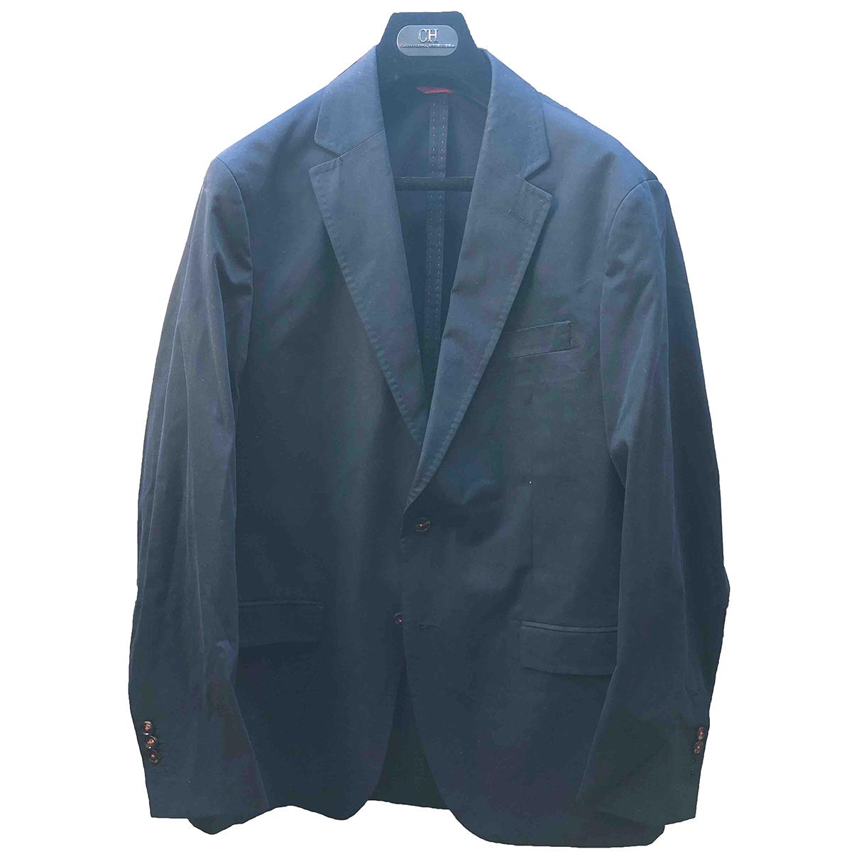 Carolina Herrera - Vestes.Blousons   pour homme en coton - bleu