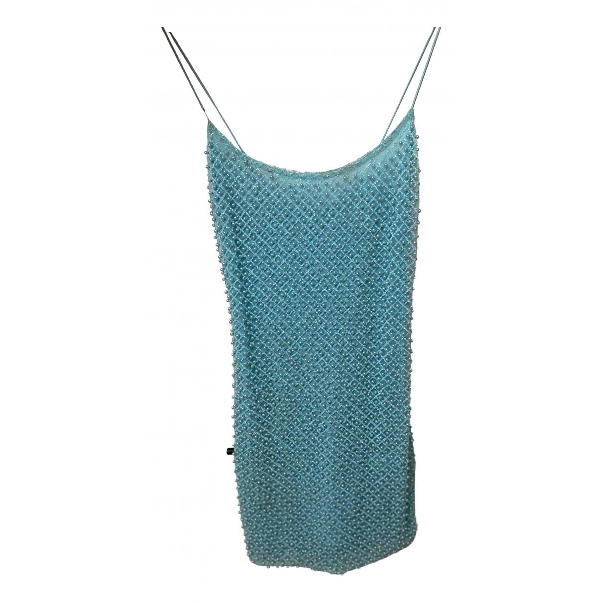 Ohpolly \N Kleid in  Blau Wolle