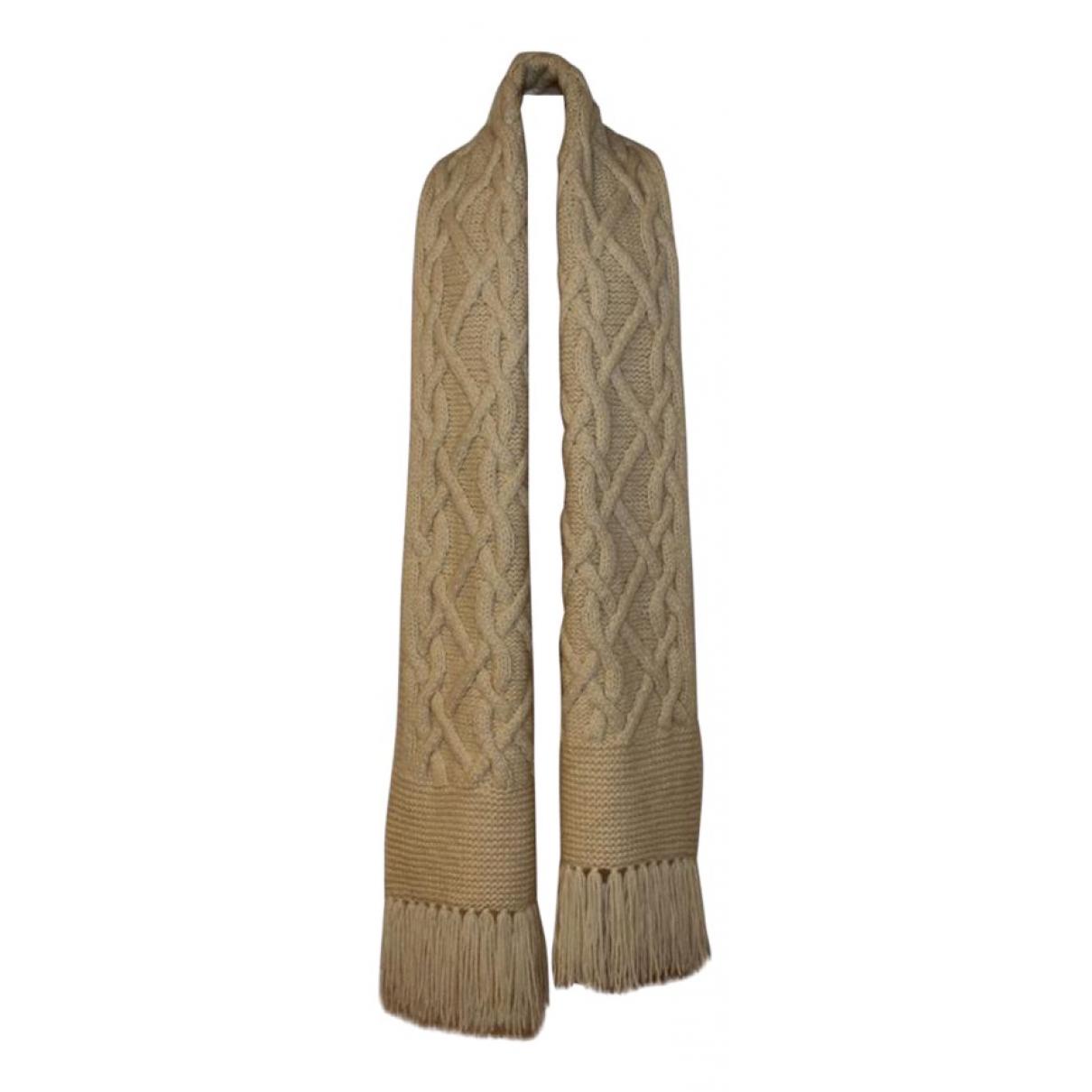 Tom Ford - Foulard   pour femme en laine - ecru