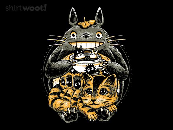 Cat And The Spirit Friend T Shirt