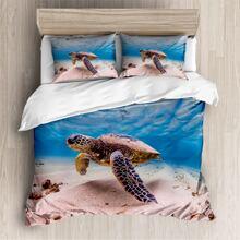 Tortoise Print Bedding Sets Without Filler