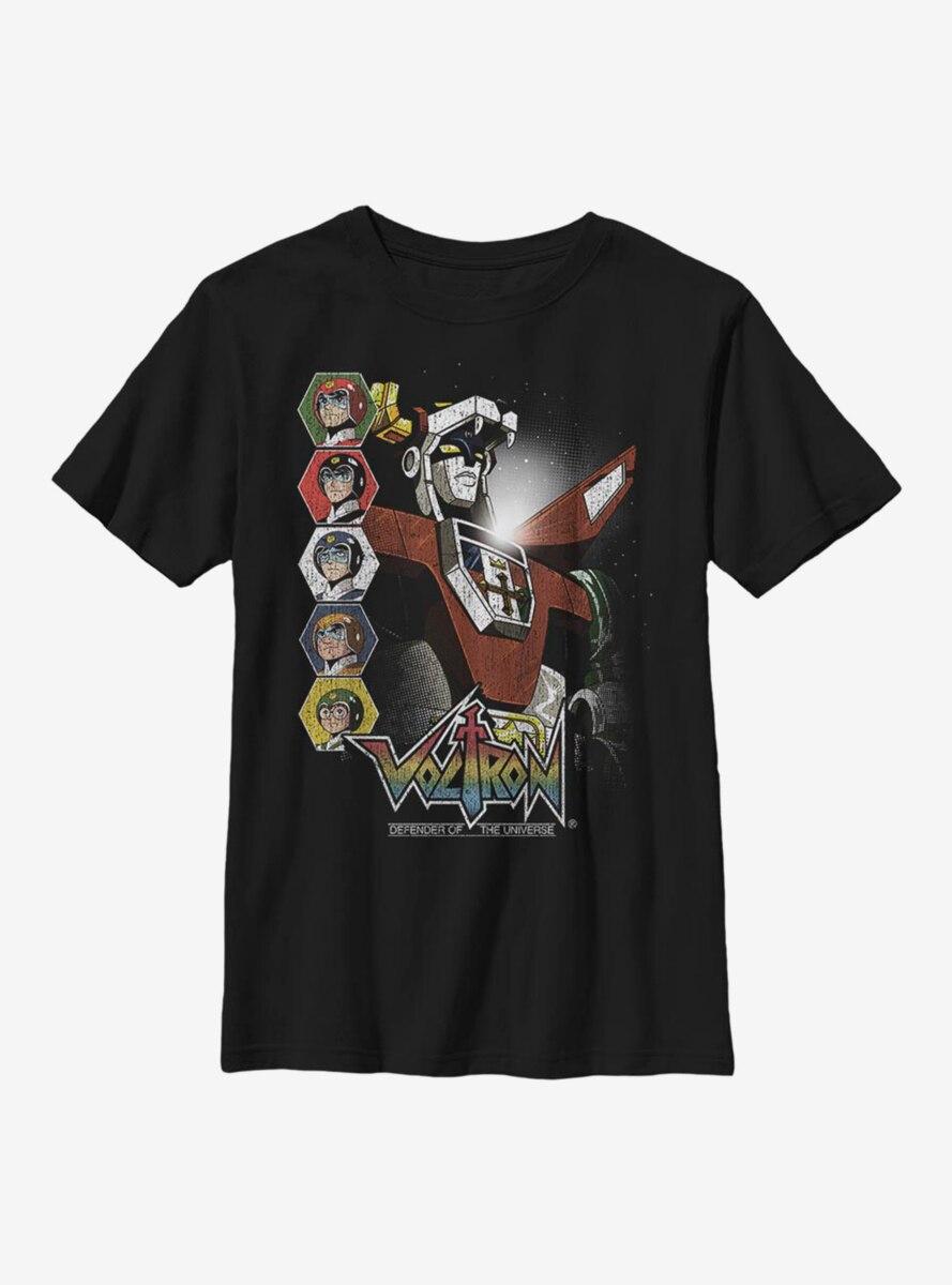 Voltron: Legendary Defender Lions Unite Youth T-Shirt