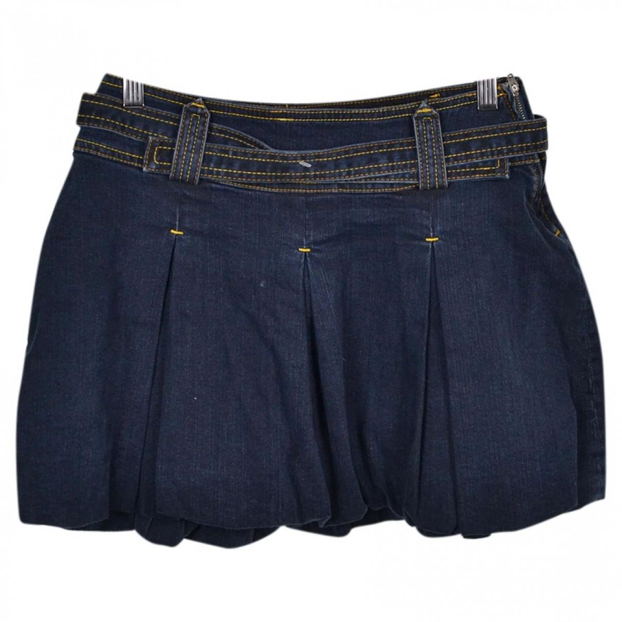Woolrich - Jupe   pour enfant en coton - bleu