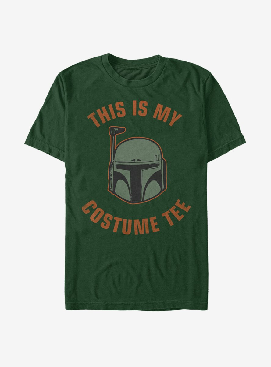 Star Wars Halloween This is My Boba Costume T-Shirt